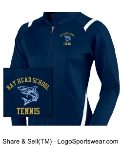 Girls Tennis Jacket Design Zoom